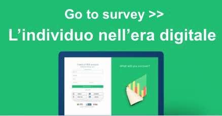 L'individuo nell'era digitale survey