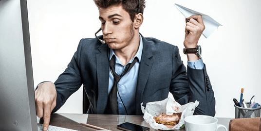 abitudini di lavoro sbagliate