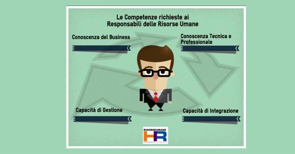 competenze richieste ai responsabili delle risorse umane