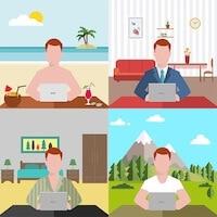 Smart Working, il lavoro intelligente: da casa o in uffici Google Style