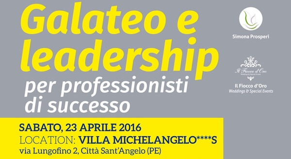 Galateo e Leadership