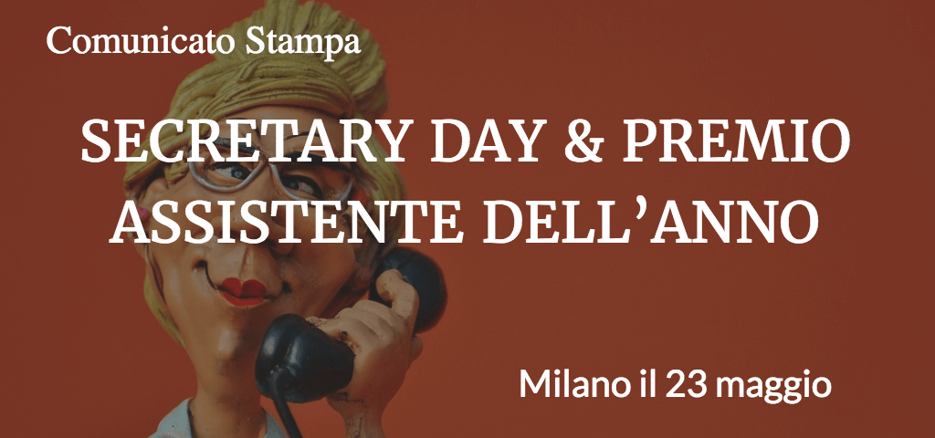 secretary day e premio assistente dell'anno