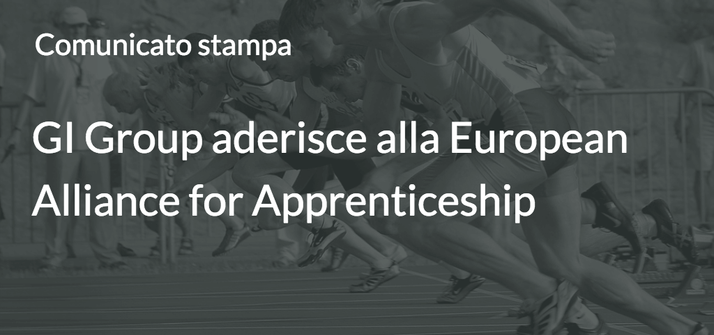 GI Group aderisce alla European Alliance for Apprenticeship