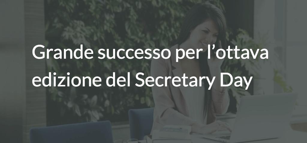 Grande successo per l'ottava edizione del Secretary Day