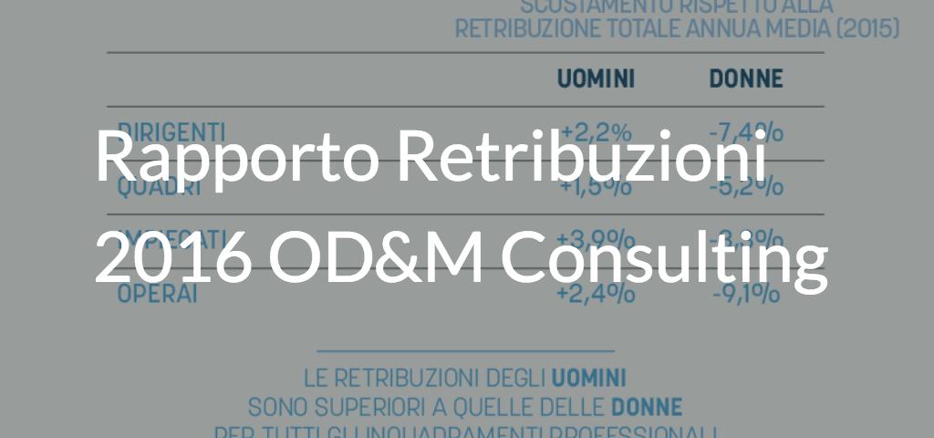 rapporto retribuzioni 2016