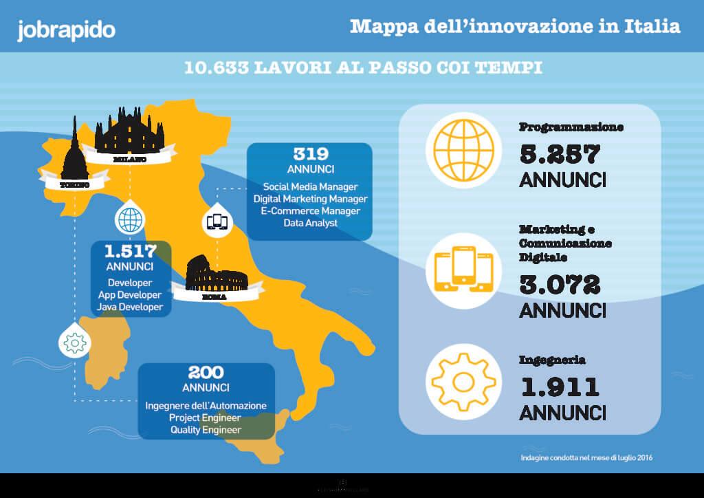 Mappa Innovazione in Italia