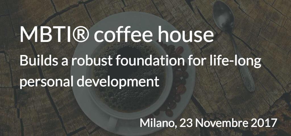 MBTI Coffee house 23 novembre 2017