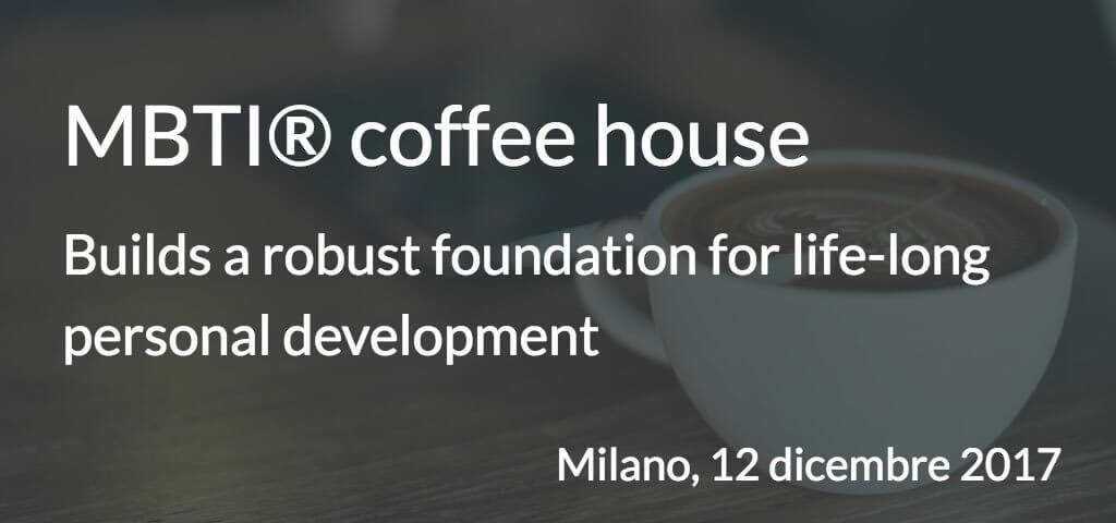 MBTI coffee house 12 dicembre 2017