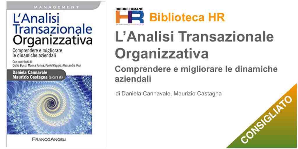 L'analisi transazionale organizzativa