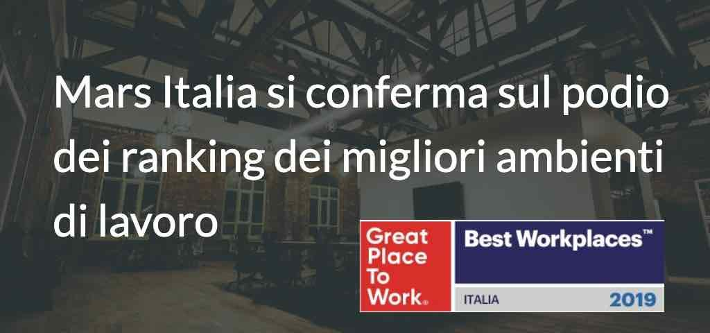 mars italia great place to work 2019