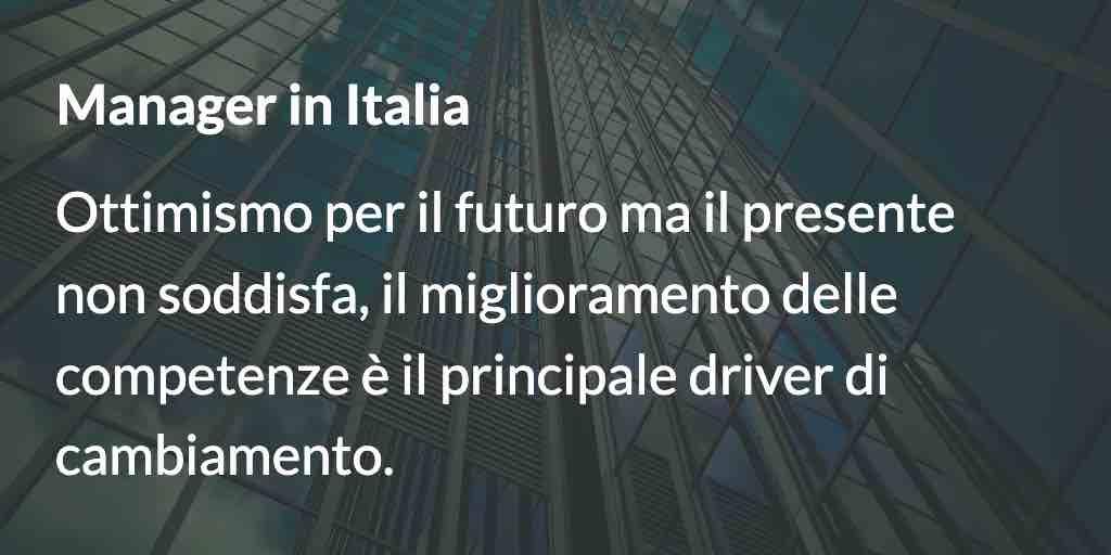 Manager in italia