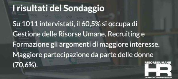 RisorseUmane-HR.it - i risultati del sondaggio