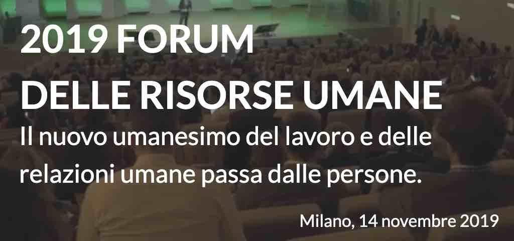 Forum delle Risorse Umane 2019