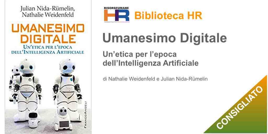 Umanesimo digitale. Un'etica per l'epoca dell'Intelligenza Artificiale. (copertina libro)
