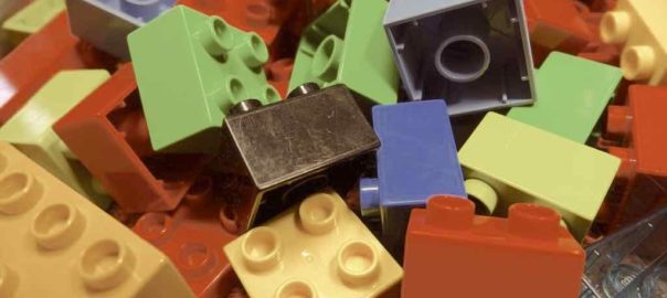 Un utilizzo innovativo dei mattoncini Lego