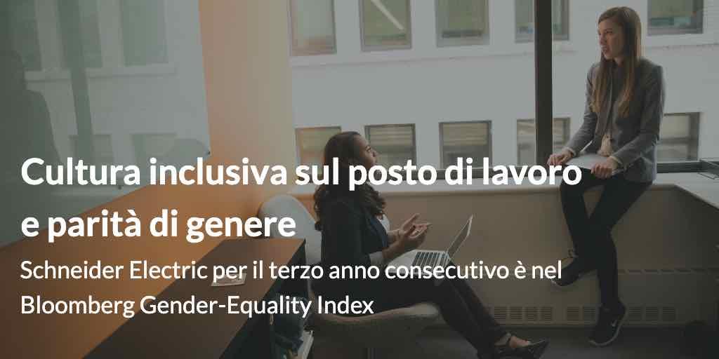 Cultura inclusiva sul posto di lavoro e parità di genere