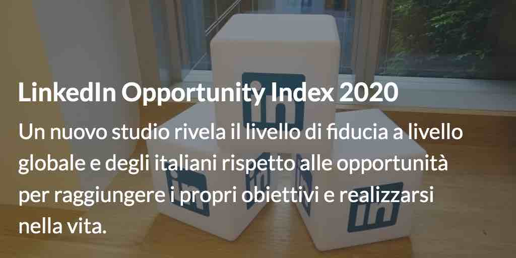 LinkedIn Opportunity Index 2020
