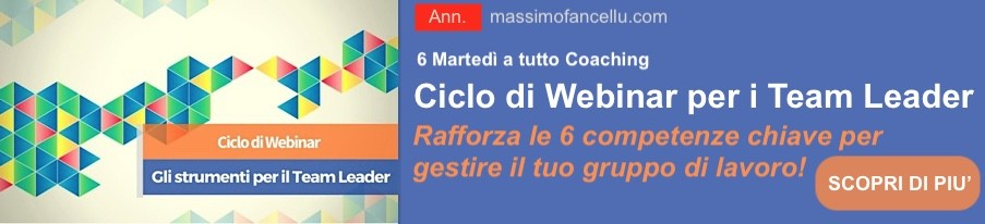 Ciclo di webinar per i team leader