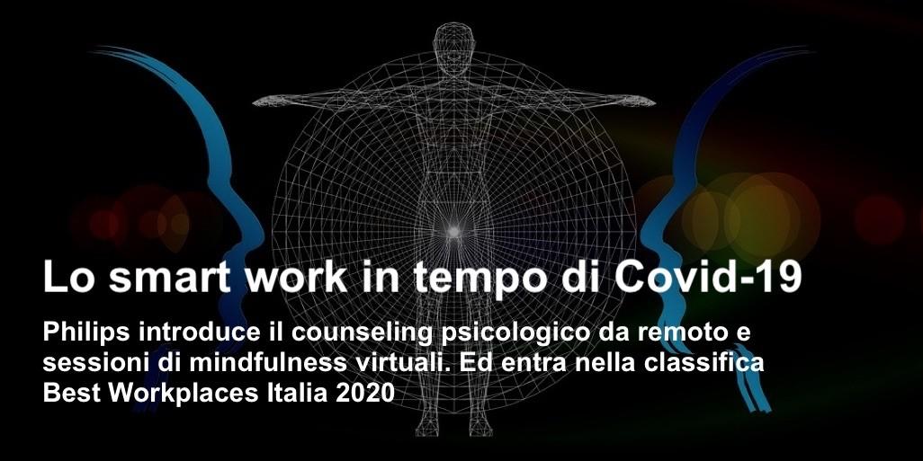 Lo smart work in tempo di Covid-19