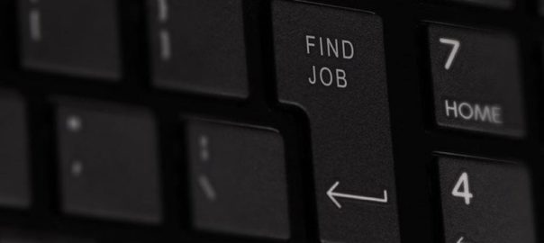 ricerca di un lavoro
