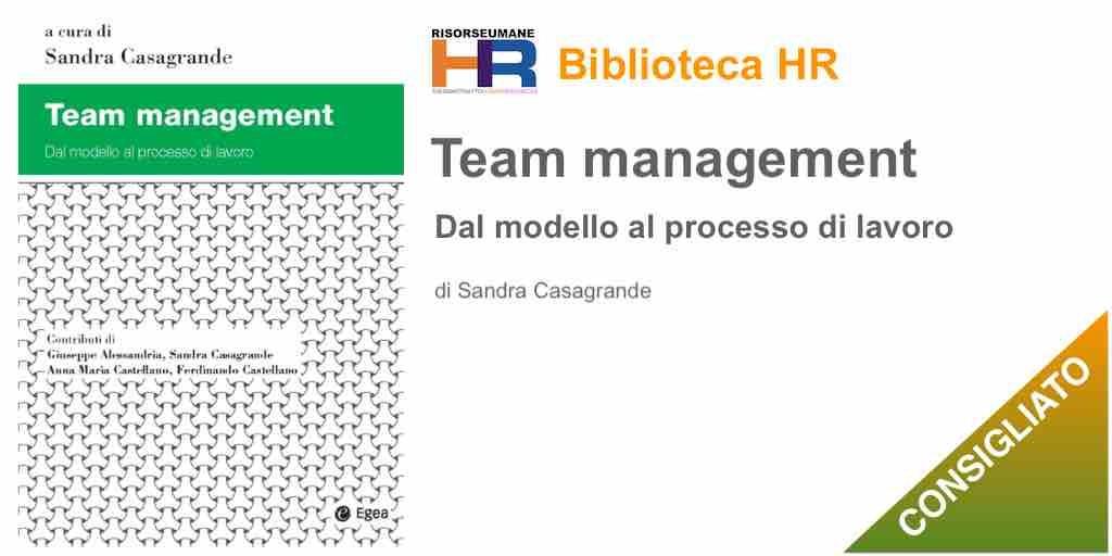 Team management. Dal modello al processo di lavoro