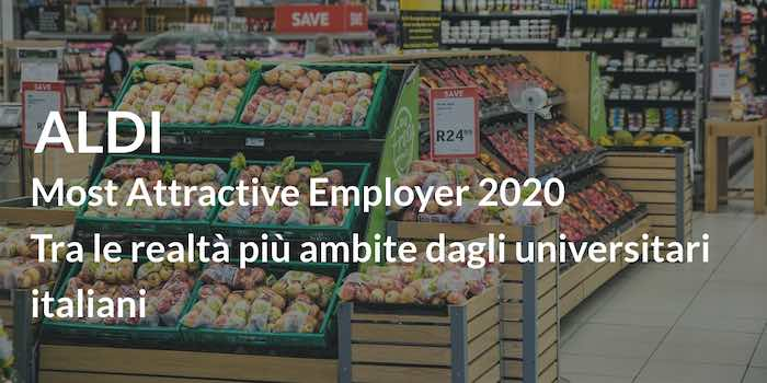 ALDI Most Attractive Employer 2020