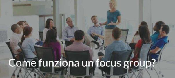 come funziona un focus group