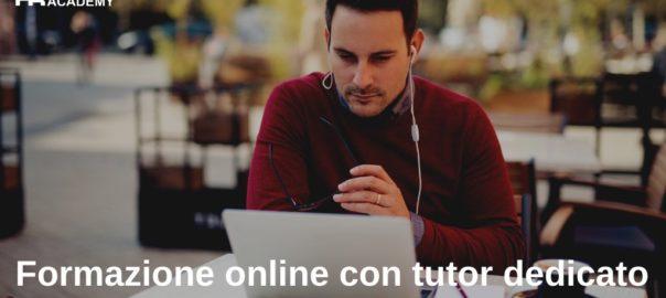 Formazione online con tutor dedicato