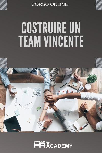 Corso online costruire un team vincente