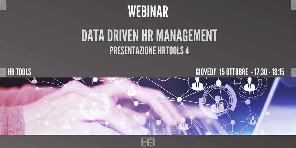 Data Driven HR management