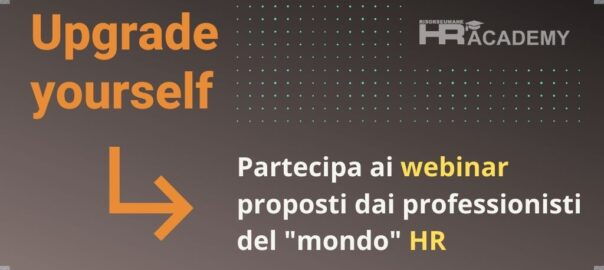 """webinar proposti dai professionisti del """"mondo"""" HR"""
