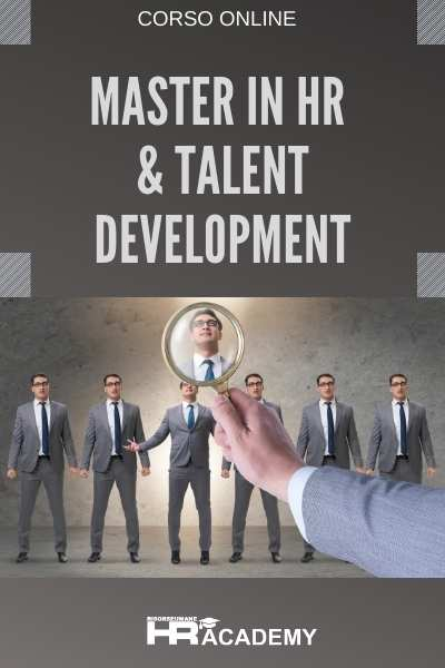 video corso master in hr & talent development