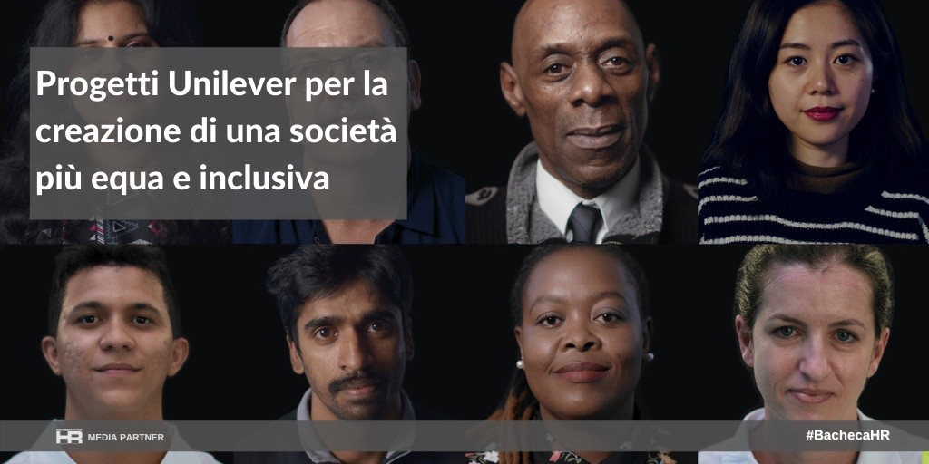 Progetti Unilever per la creazione di una società più equa e inclusiva