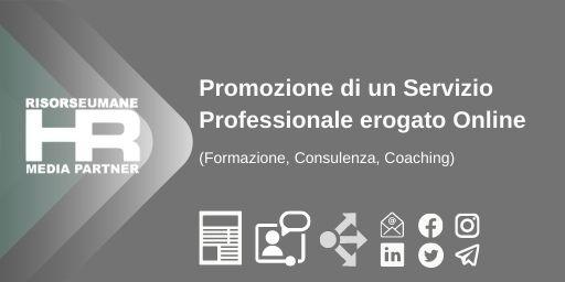 Promozione di un Servizio professionale Online