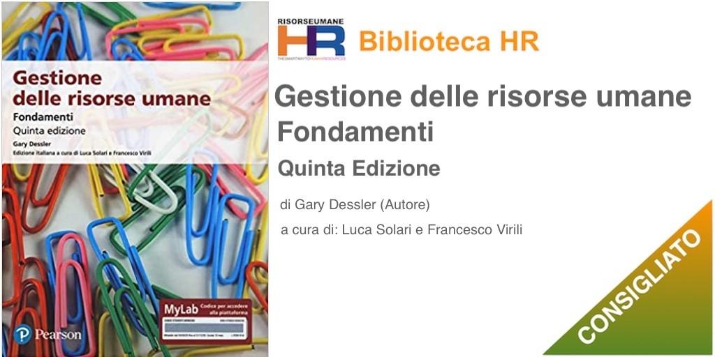 Libro: Gestione delle risorse umane fondamenti V