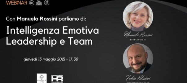 Webinar Intelligenza Emotiva Leadership Team