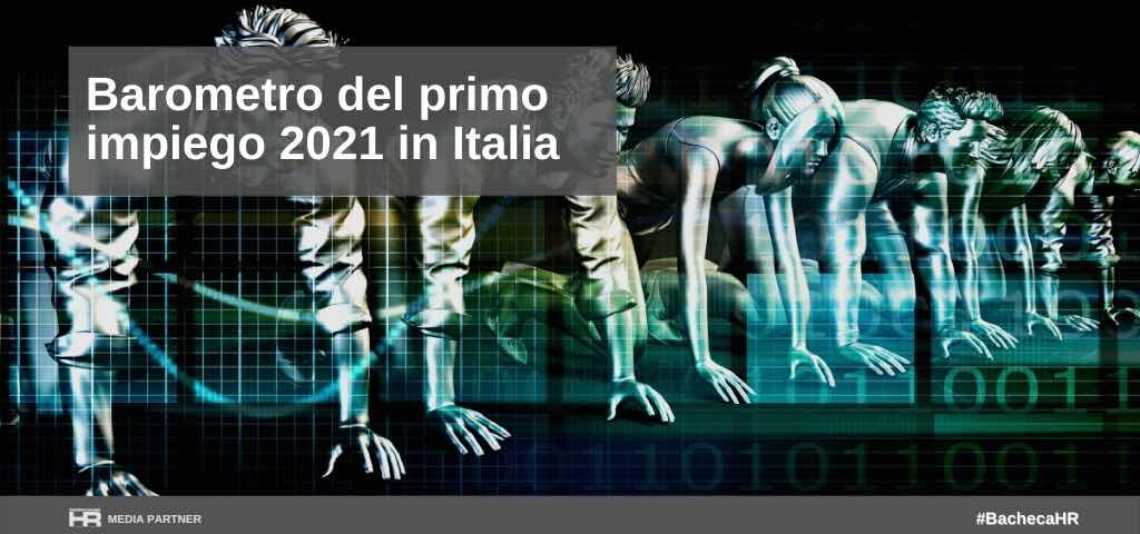 Barometro del primo impiego 2021 in Italia