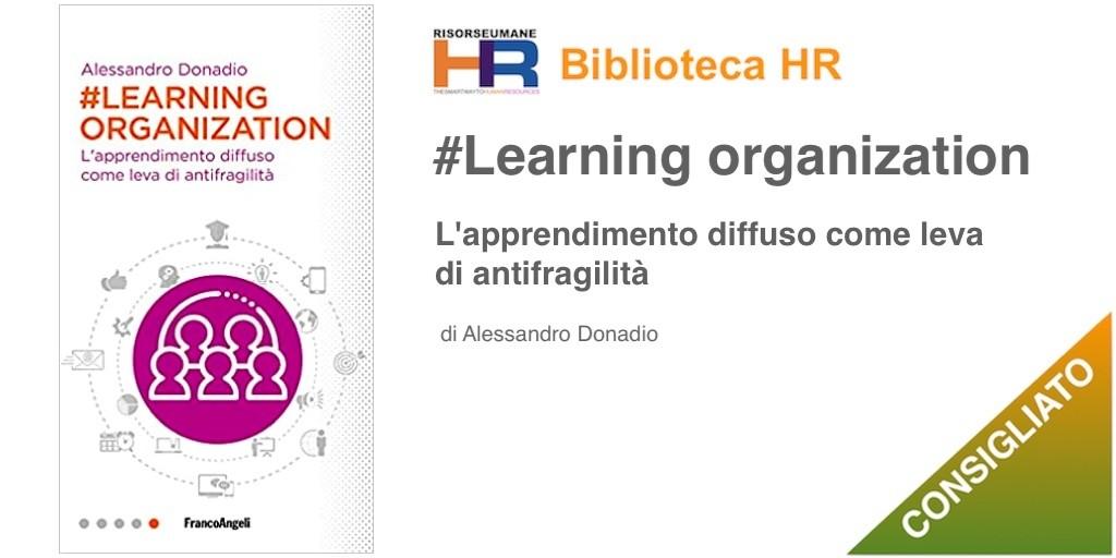 #Learning organization. L'apprendimento diffuso come leva di antifragilità