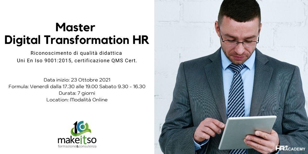 Master Digital Trasformation HR