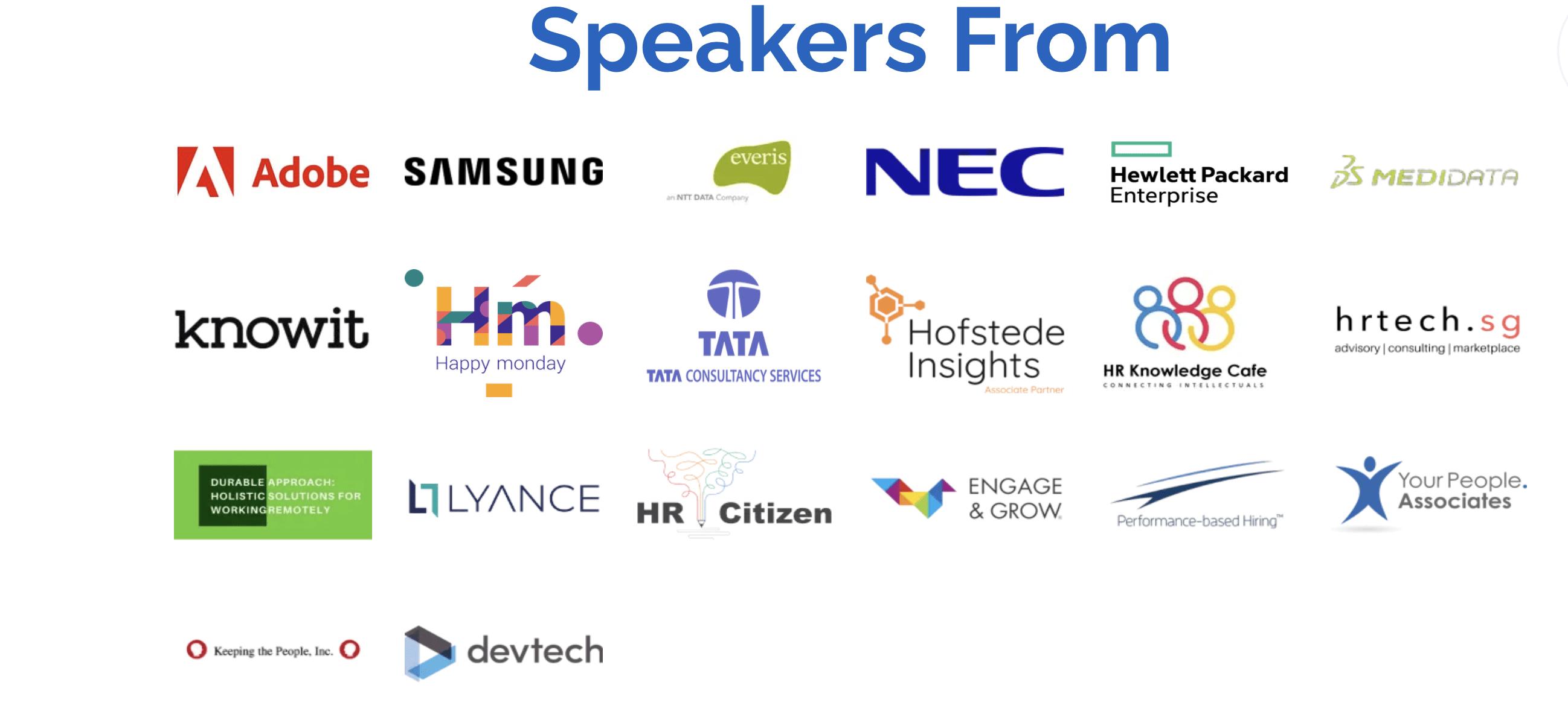 HR in IT - speakers