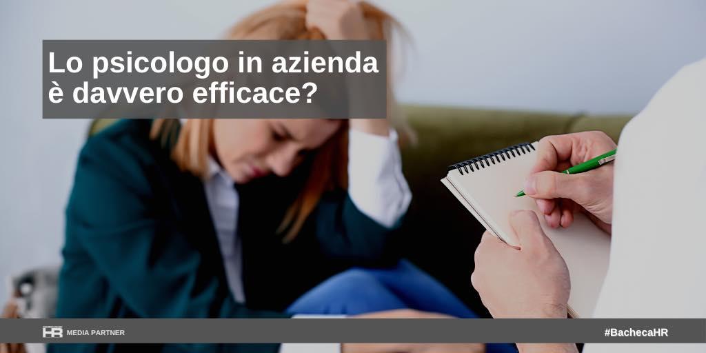 Lo psicologo in azienda è davvero efficace?